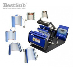 Horizontal mug heat press 6 in 1 - model JTSB06-6 Sublimation Thermal Transfer