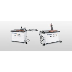 Shaped part edge banding / post-processing machines